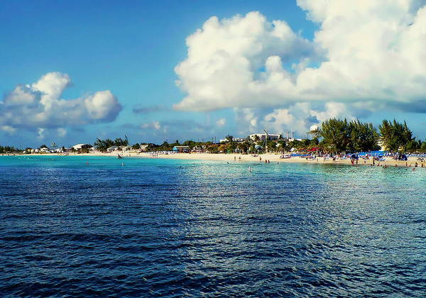 Photograph - Caribbean Beach Scene by Anthony Dezenzio