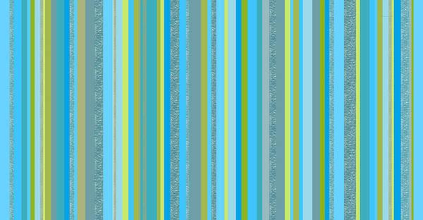 Digital Art - Caribbean Blue Decorative Stripe by Val Arie