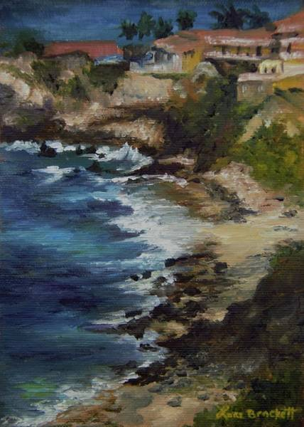 Painting - Caribbean Get-a-way by Lori Brackett