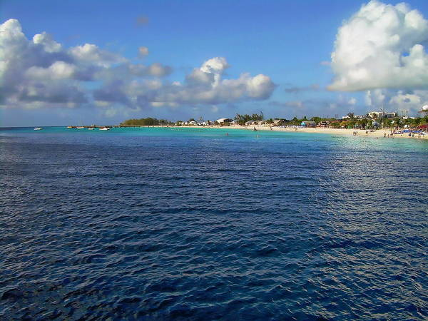 Photograph - Caribbean Ocean And Beach by Anthony Dezenzio