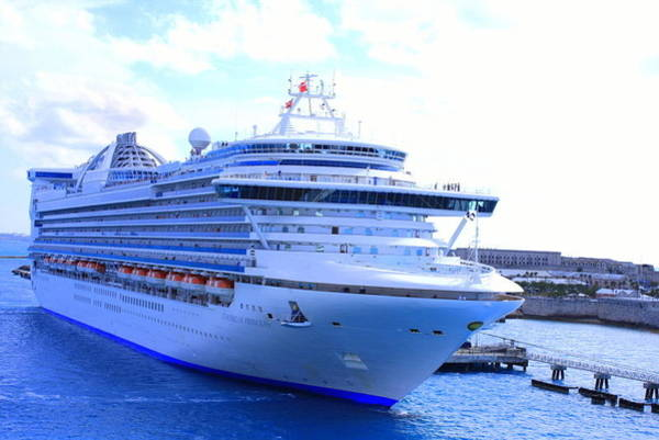 Princess Cruise Lines Photograph - Caribbean Princess by William Rogers
