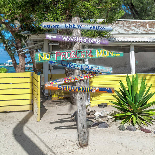 Caribbean Rum Point Ya Mon Art Print