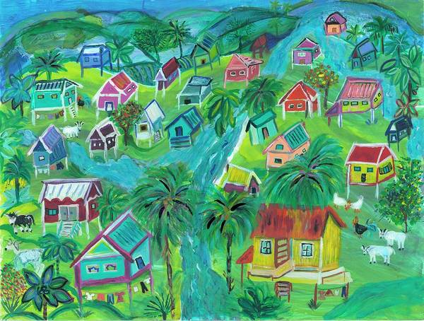Wall Art - Painting - Caribbean Spirit by Bridget Weber