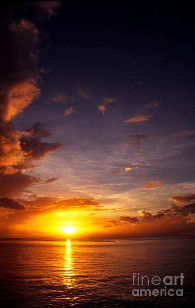 Photograph - Caribbean Sunset Dominica by Thomas R Fletcher