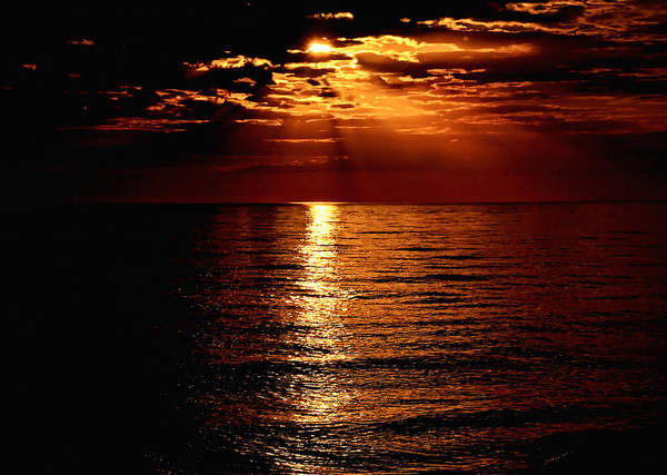 Photograph - Caribbean Sunset by Jeremy Lavender Photography