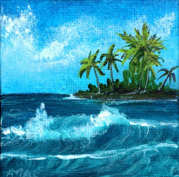 Painting - Caribbean Vacation #2 by Anastasiya Malakhova