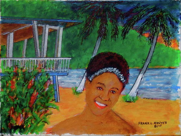 Painting - Caribe Playa Beach Resort Patillas Puerto Rico by Frank Hunter