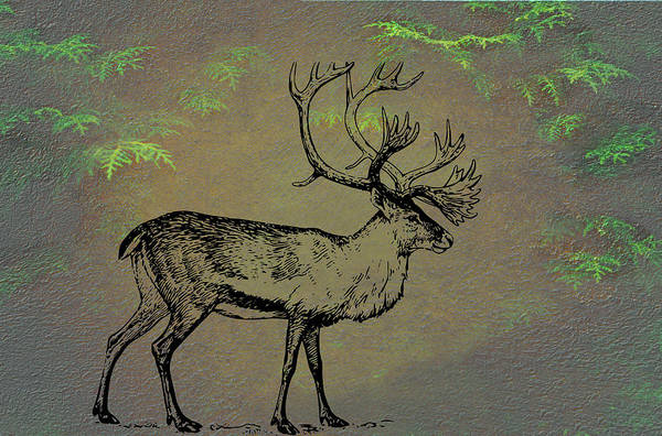 Mixed Media - Caribou by Movie Poster Prints