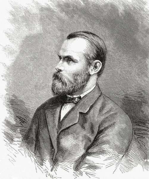 Wall Art - Drawing - Carl Christian Koldewey, 1837 To 1908 by Vintage Design Pics
