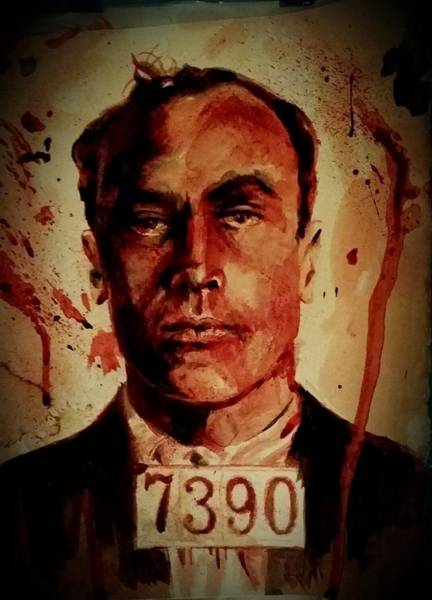 It Professional Painting - Carl Panzram by Ryan Almighty