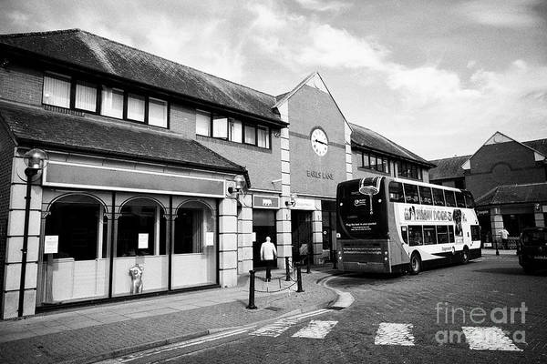 Wall Art - Photograph - Carlisle Bus Station Cumbria England Uk by Joe Fox