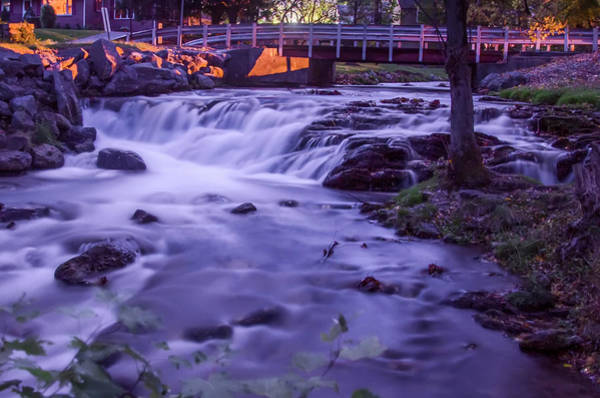 Photograph - Carlisle Pa - The Letort Spring Waterfall by Bill Cannon