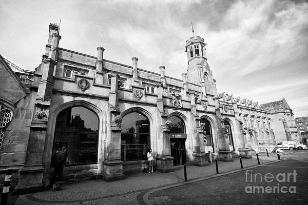 Wall Art - Photograph - Carlisle Railway Station Cumbria England Uk by Joe Fox