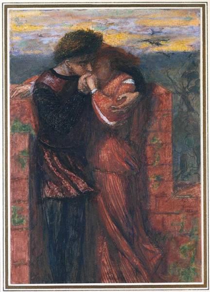 Gabriel Painting - Carlisle Wall by Dante Gabriel Rossetti