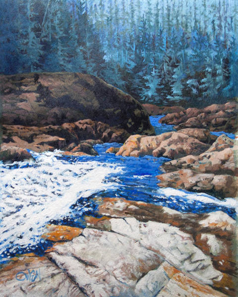 Painting - Carmanah Valley by Rob Owen