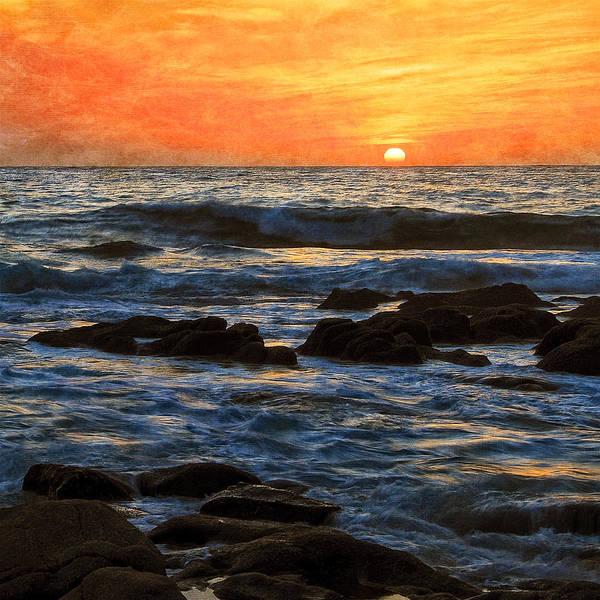 Photograph - Carmel Bay Sunset, Carmel, California by Flying Z Photography by Zayne Diamond