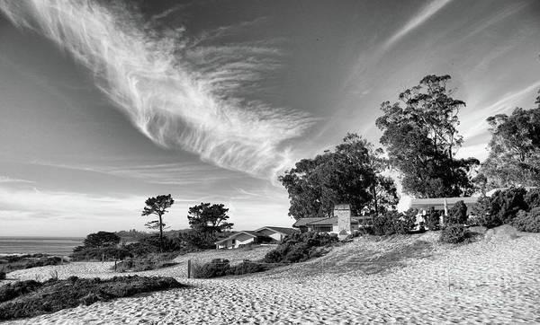 Carmel By The Sea Photograph - Carmel By The Sea California Bw by Chuck Kuhn