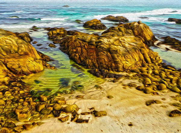 Painting - Carmel California - 07 by Gregory Dyer