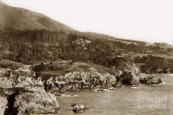 Photograph - Carmel Highlands Monterey California Circa 1918 by California Views Archives Mr Pat Hathaway Archives
