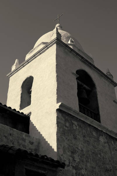 Carmel Mission Photograph - Carmel Mission I Toned by David Gordon