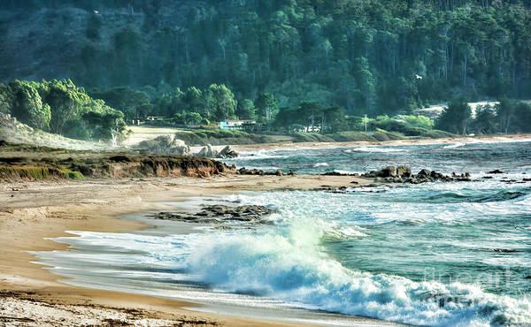 Carmel By The Sea Photograph - Carmel Oceans  by Chuck Kuhn