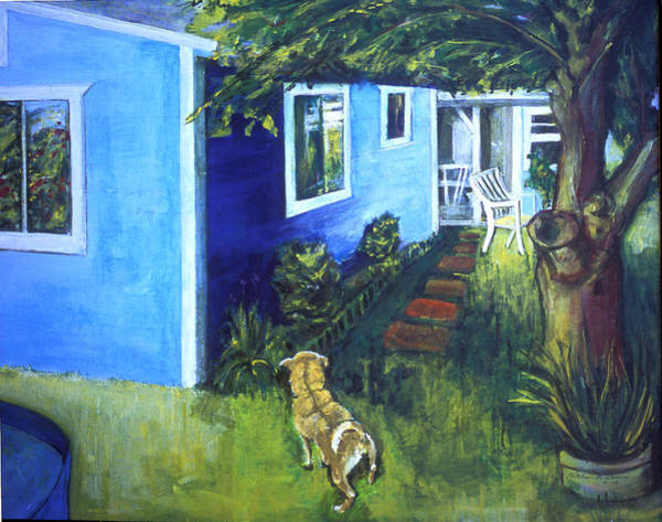 Painting - Carmel's Back Yard by Kathleen Barnes
