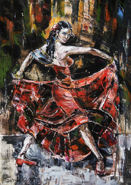 Painting - Carmen by Stefano Popovski