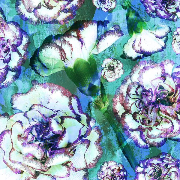 Tim Burton Wall Art - Photograph - Carnation Dreams by Susanne Kasielke