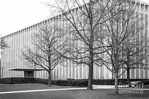 Photograph - Carnegie Mellon University Hunt Library by University Icons