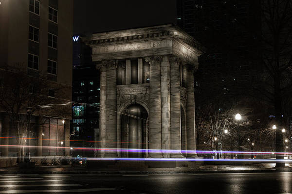 Photograph - Carnegie Monument by Kenny Thomas