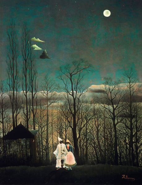 French Painter Wall Art - Painting - Carnival Evening by Henri Rousseau