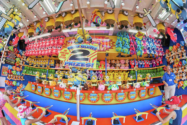 Photograph - Carnival Game At The State Fair by Jim Hughes
