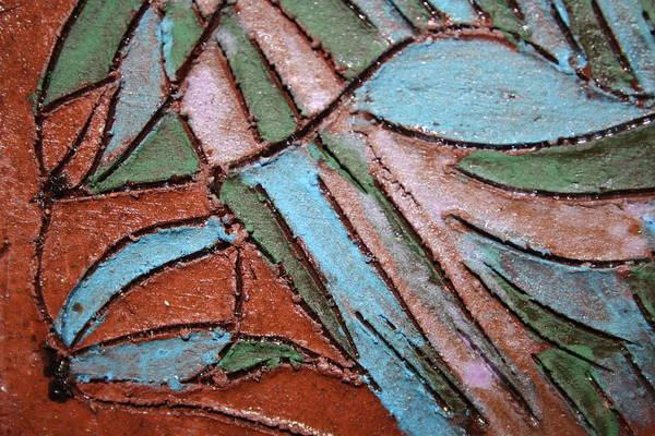 Painting - Carnival Headdress Tile by Gloria Ssali