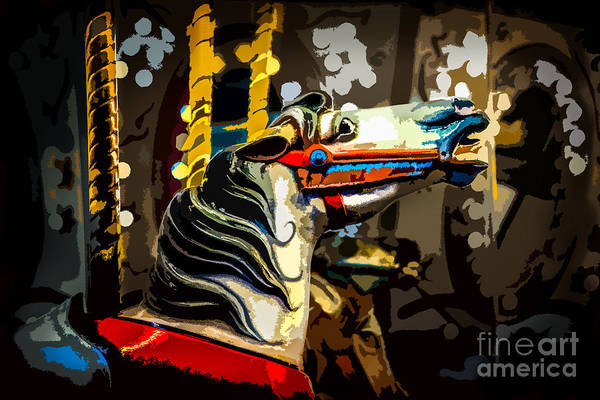 Photograph - Carnival Horse by Michael Arend