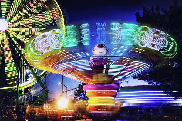 Wall Art - Photograph - Carnival In Motion by Marnie Patchett