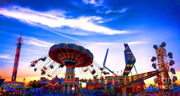 County Fair Photograph - Carnival Magic by Olivier Le Queinec