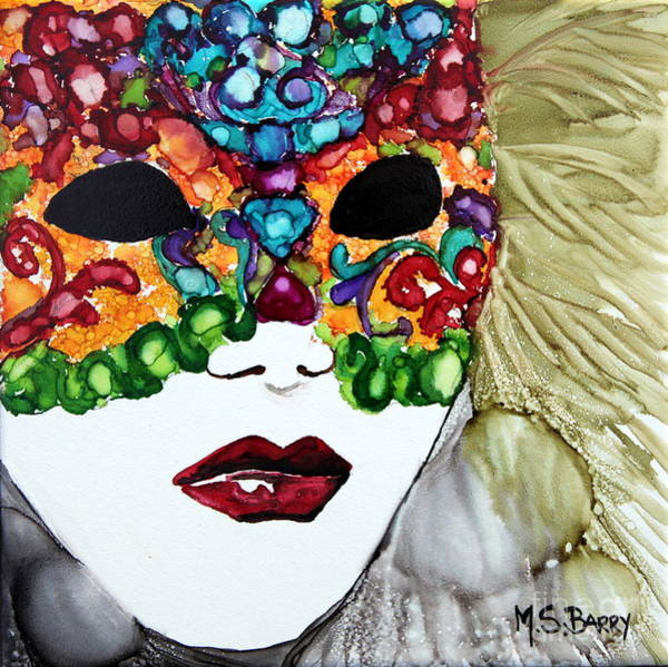 Painting - Carnival by Maria Barry