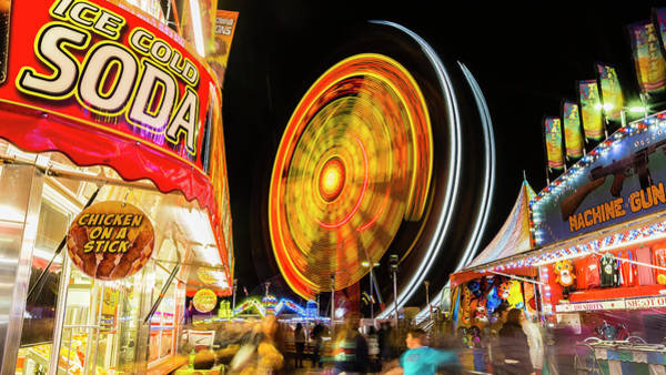 Wall Art - Photograph - Carnival Midway by Stephen Stookey