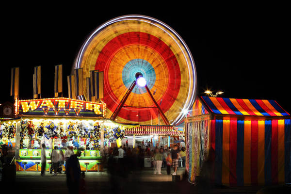 Wall Art - Photograph - Carnival Midway by Todd Klassy