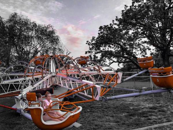 Photograph - Carnival Ride by Chris Montcalmo