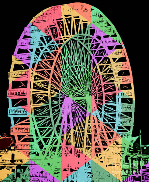 Carnival Rides Wall Art - Painting - Carnival Ride by Edward Fielding