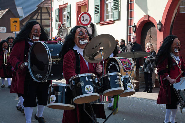 Photograph - Carnival Time In Germany by Tatiana Travelways