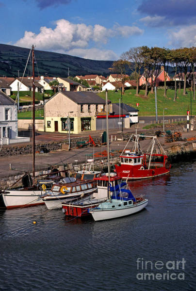 Photograph - Carnlough Harbour County Antrim Northern Ireland by Thomas R Fletcher