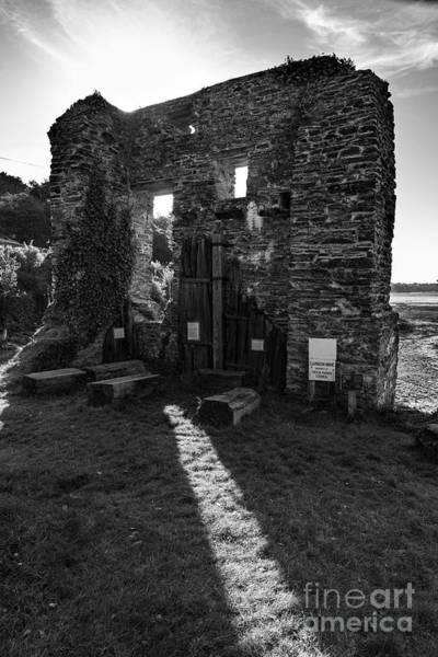 Photograph - Photographs Of Cornwall Carnon Mine by Brian Roscorla