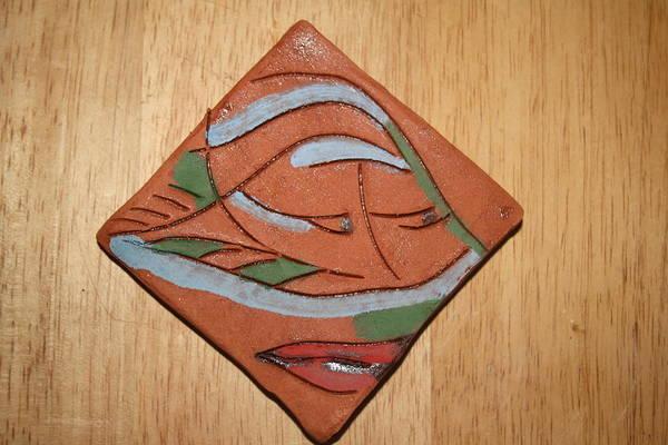 Ceramic Art - Carol King - Tile by Gloria Ssali