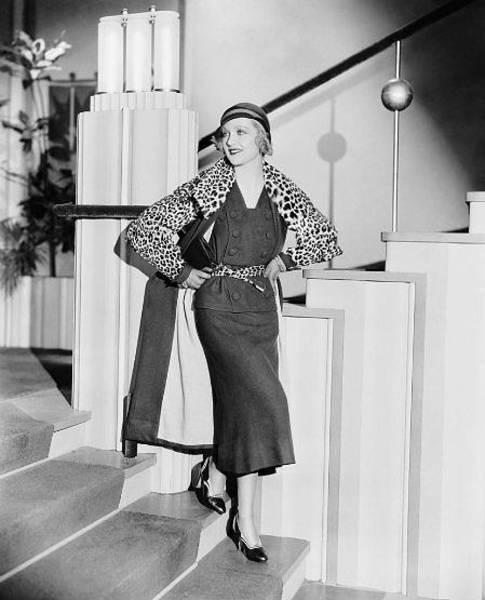 Photograph - Carole Lombard Photo Shoot by Chuck Staley