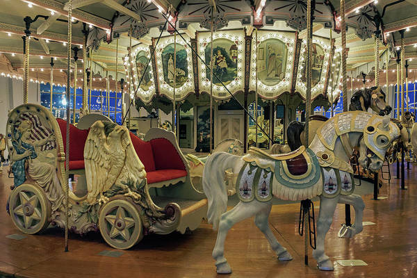 Photograph - Carousel Chariot by Jerry Gammon