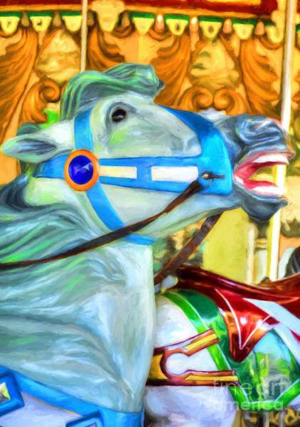 Photograph - Carousel Colors # 5 by Mel Steinhauer