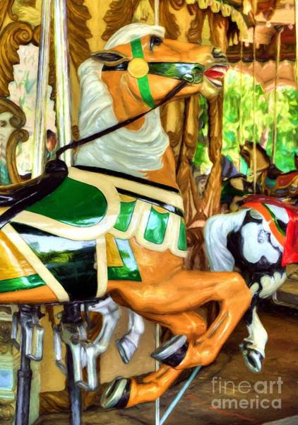 Photograph - Carousel Colors # 8 by Mel Steinhauer
