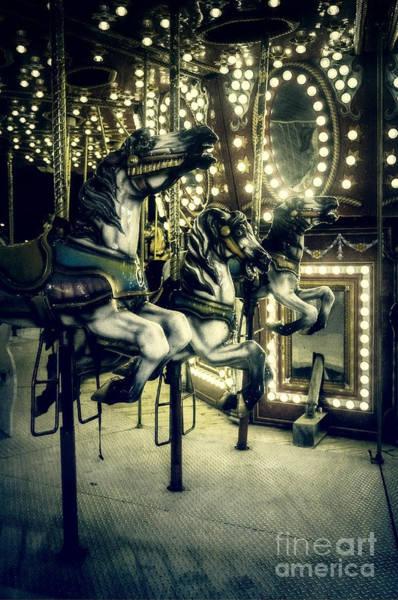 Photograph - Carousel  by Debra Fedchin